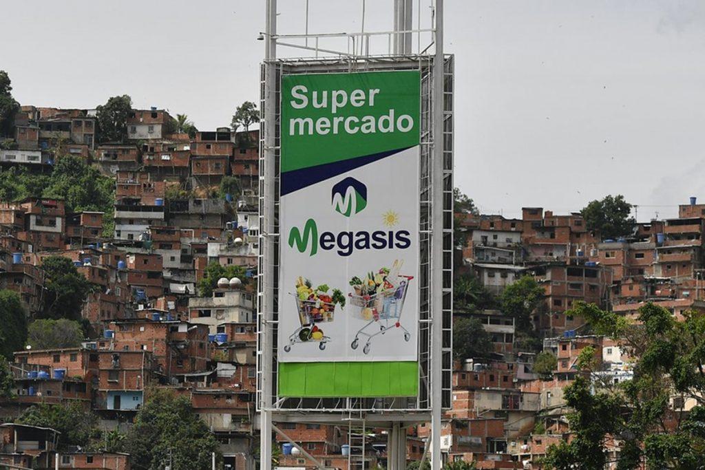 Supermercado iraní en Caracas Megasis