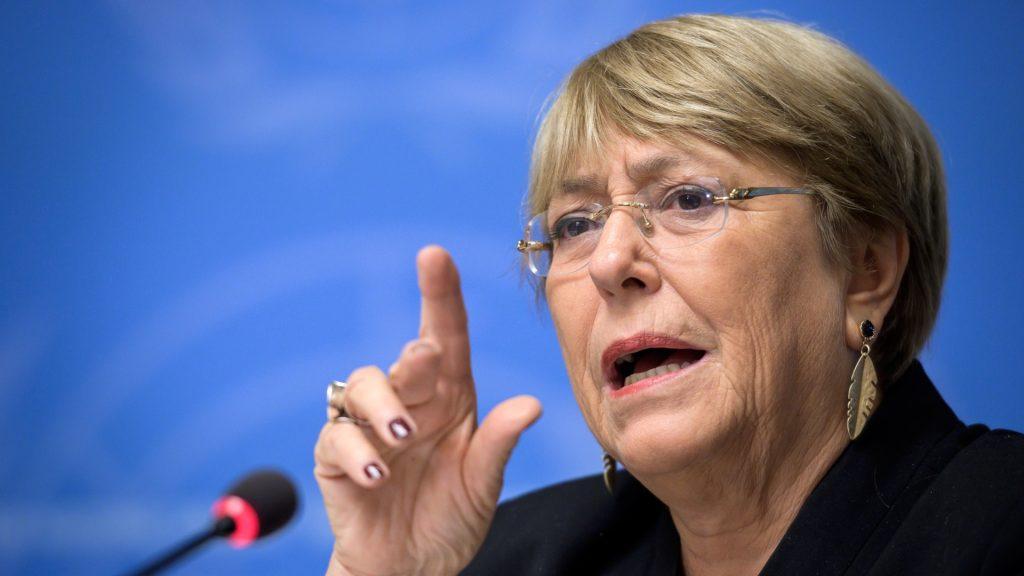 Bachelet catalogó de positivo la liberación de Juan Requesens