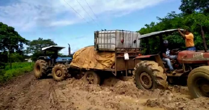 Productores agropecuarios denunciaron pésimo estado de vías rurales de Zaraza en Guárico