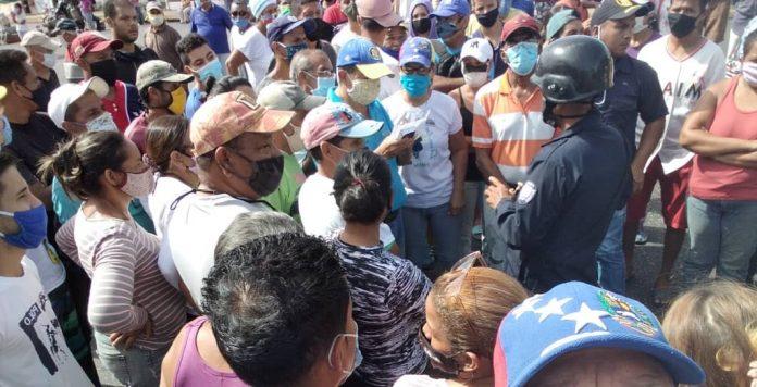 Protestaron en Maturín por la crisis de gas doméstico en la entidad
