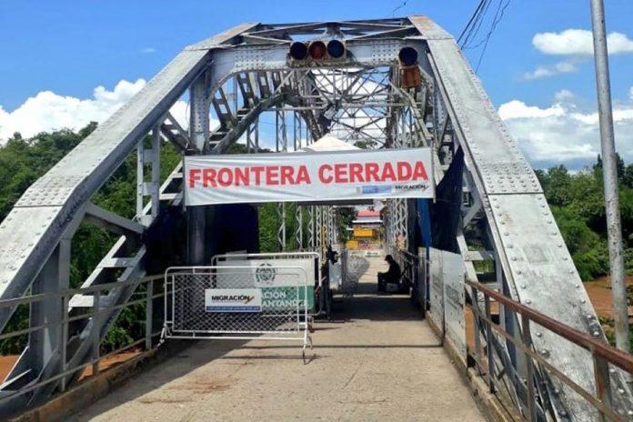 venezolanos varados Régimen, Puente Internacional Simón Bolívar