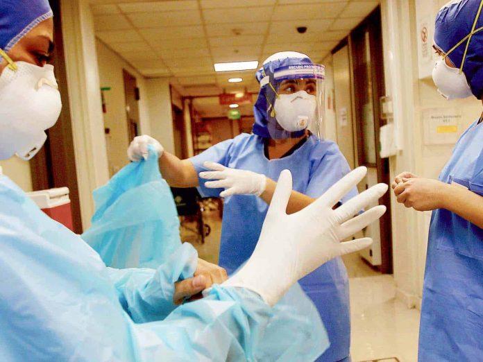 Trabajadores salud covid-19
