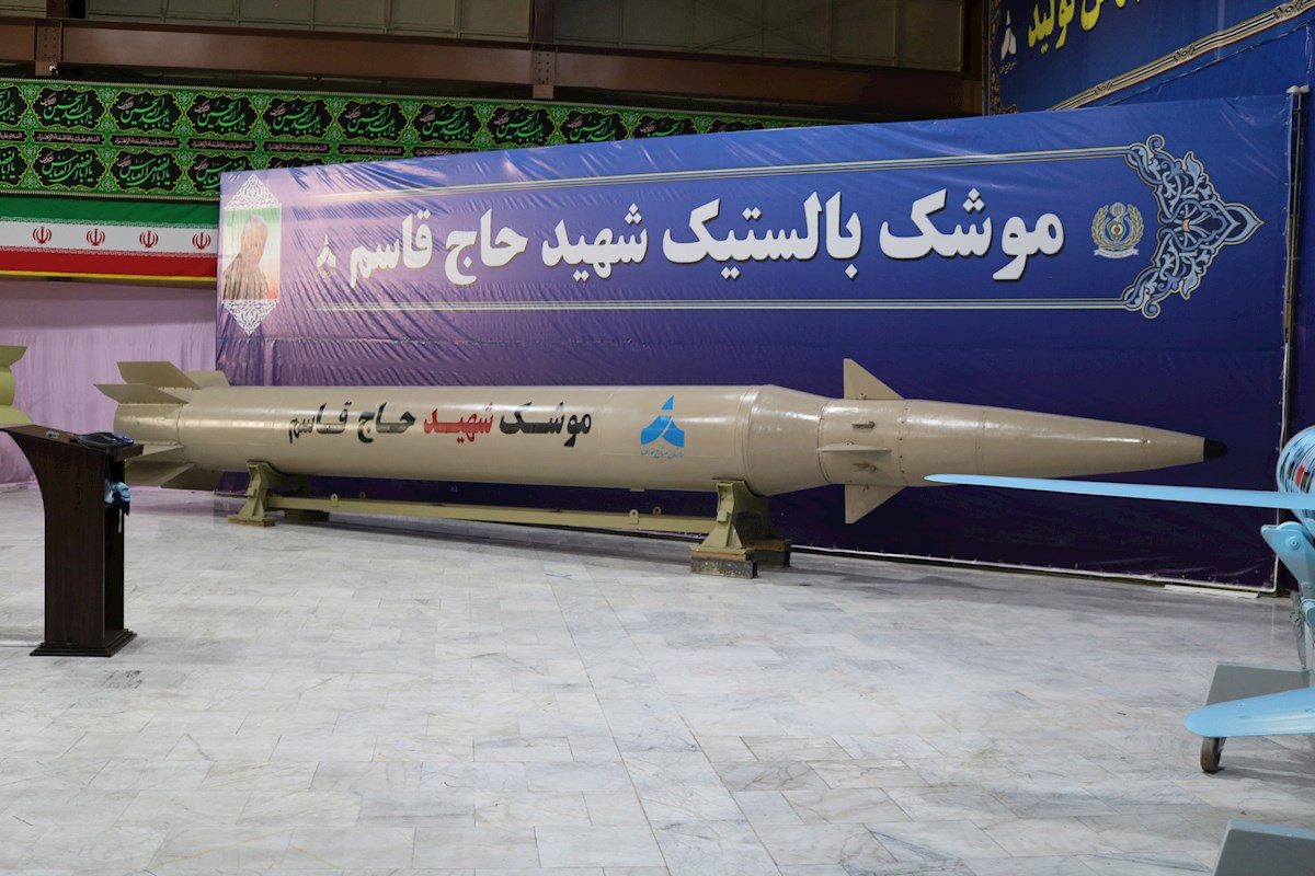 Irán misiles balístico y de crucero