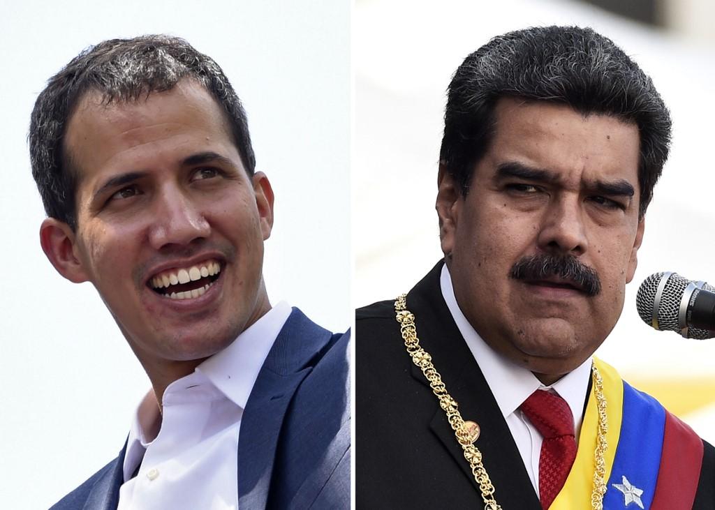 Guaidó, Maduro