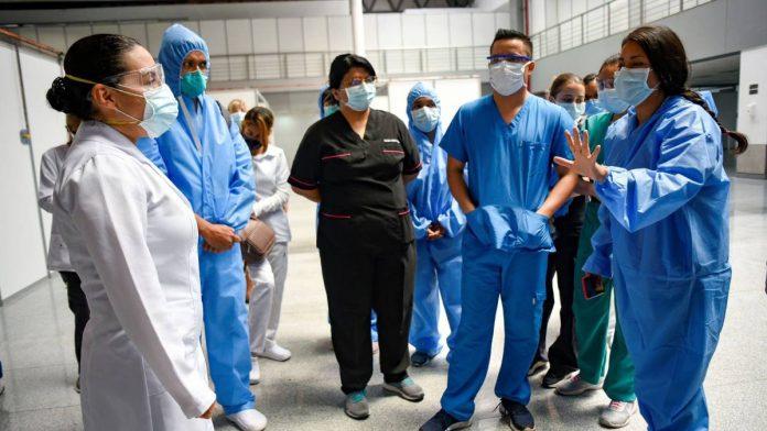 Héroes salud Guaidó