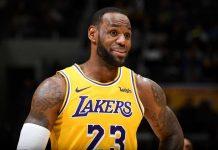 LeBron Lakers NBA