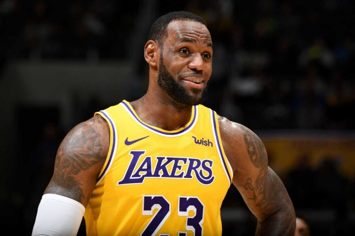 LeBron Lakers NBA