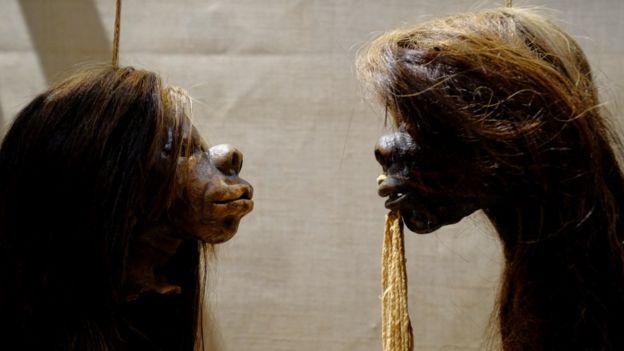 cabezas humanas