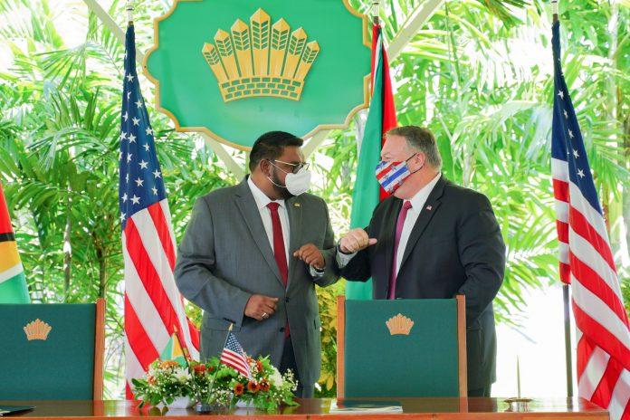 Guyana y EE UU