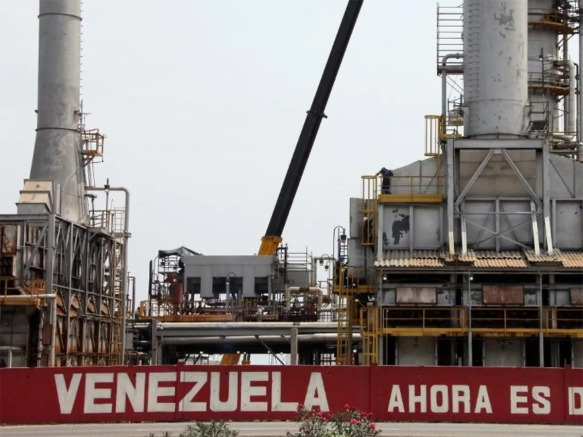 gasolina, Cardón, como chatarra, industria petrolera, Venezuela