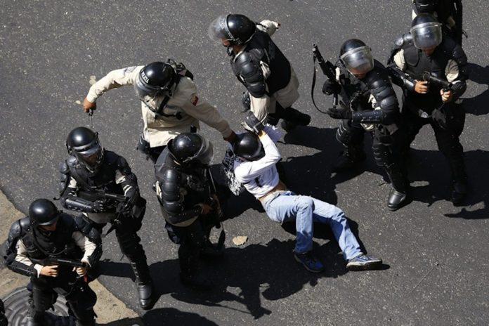 represión en Venezuela derechos humanos argentina resolución venezuela