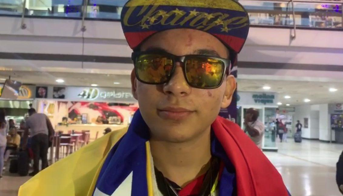 VIDEO] Rufo Chacón mostró como quedaron sus ojos por los perdigonazos que  recibió