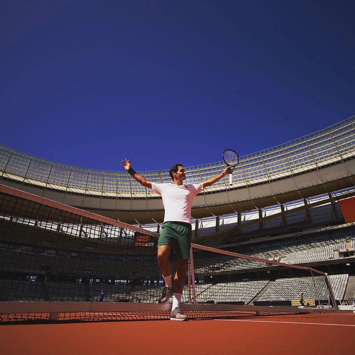 Federer desea retornar a las pistas de tenis en Australia