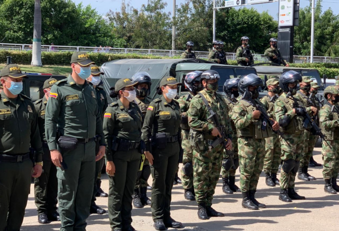 Colombia operación Muralla