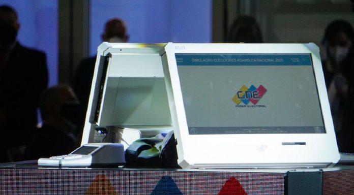 máquinas electorales auditoría CNE