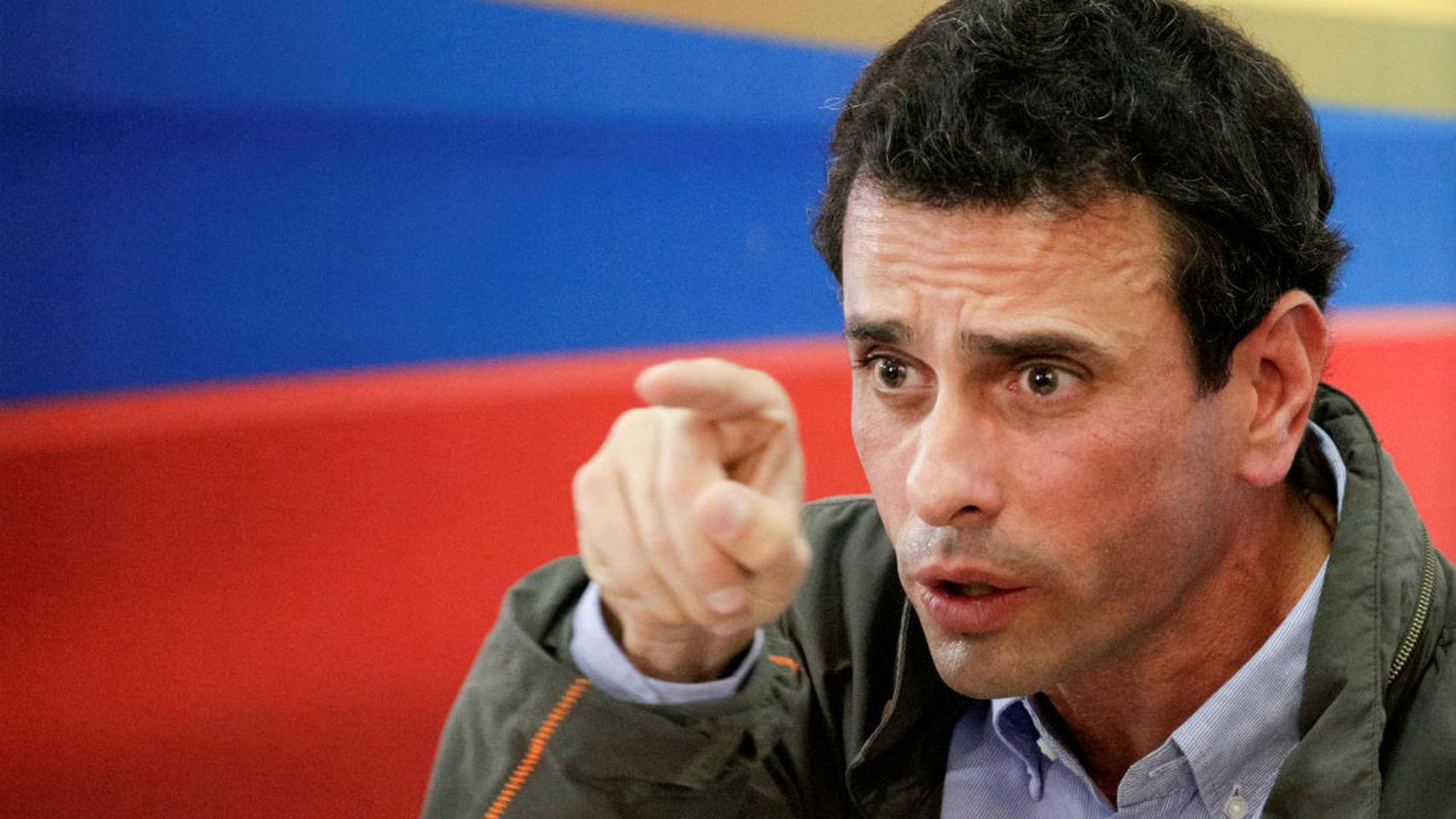 Capriles respalda acuerdo nacional de Guaidó para superar la crisis en Venezuela
