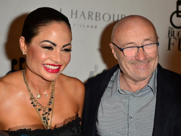 Phil Collins esposa