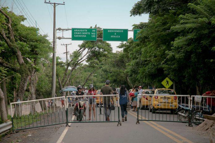 venezolanos que huyen