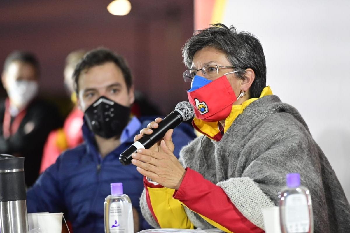 Alcaldesa de Bogotá: Hay algunos venezolanos que nos están haciendo la vida de cuadritos