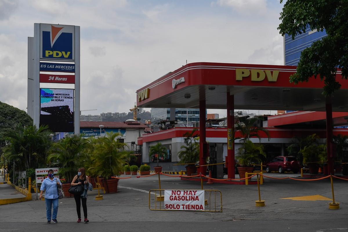 escasez de gasolina