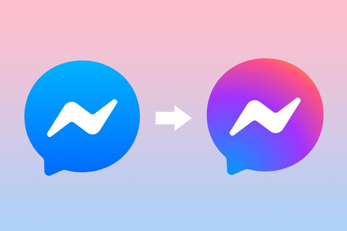 Similar al de Instagram: así es el nuevo logo de Facebook Messenger