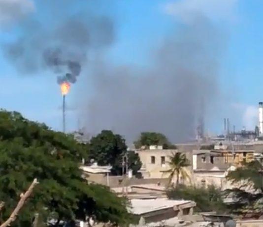Pdvsa investiga la explosión en unidad de destilación de la refinería de Amuay
