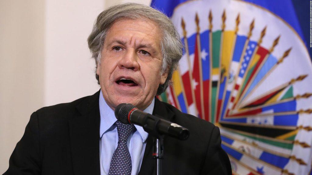 Almagro parlamentarias Latinoamérica y el Caribe