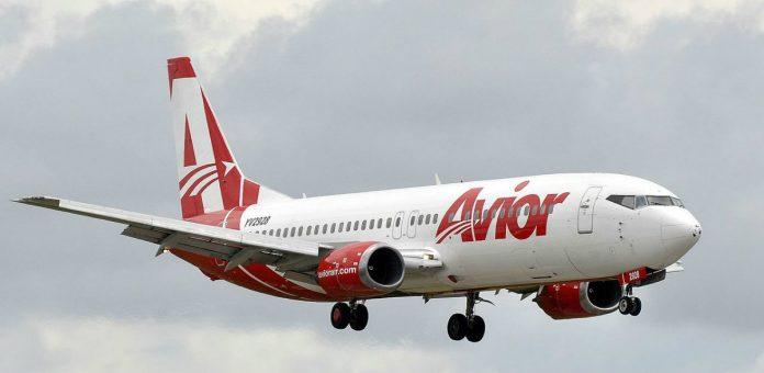 Avior Airlines-Margarita a