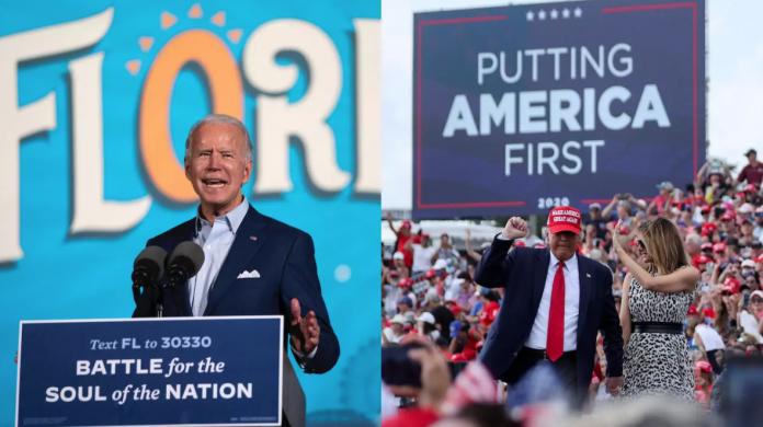 Joe Biden y Donald Trump se disputan el estado de Florida hasta el final