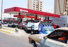 gasolina Estación de Servicio