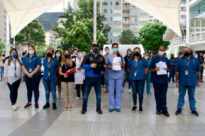 Salud Chacao ha atendido más de 15 mil casos de emergencia durante la cuarentena