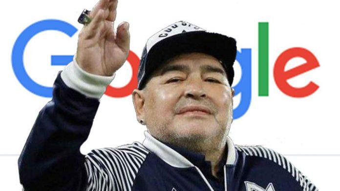 Google Maradona