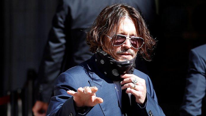 Johnny Depp The Sun