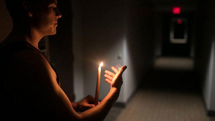 falla eléctrica- sin luz