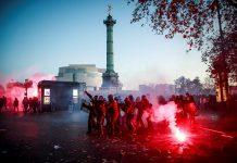 prostestas París - manifestación