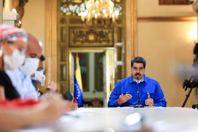 Maduro Consejo de la Unión Europea extendió sanciones al régimen de Maduro hasta noviembre de 2021