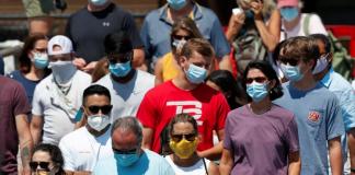 EE UU superó los 14 millones de infectados por covid-19