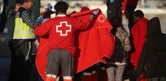 Cruz roja migrantes