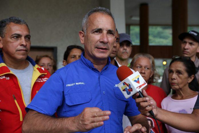 Freddy Bernal suspendió las concentraciones de cualquier tipo en Táchira