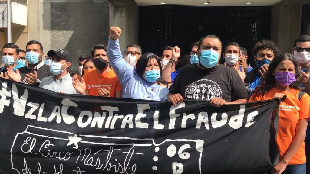 Fuerzas juveniles democráticas alzan la voz en rechazo a la farsa del 6D