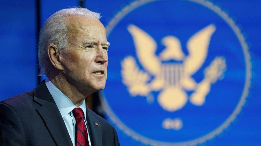 Biden promete 100 millones de dosis de vacuna en sus primeros 100 días