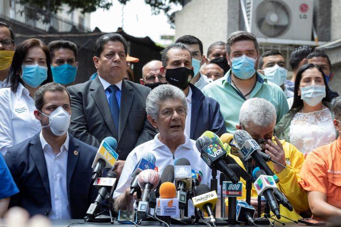 Ramos Allup afirmó que AD se abstendrá en el segundo debate de la reforma del Estatuto de Transición
