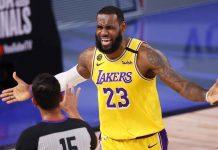 LeBron James amplió su contrato con los Lakers