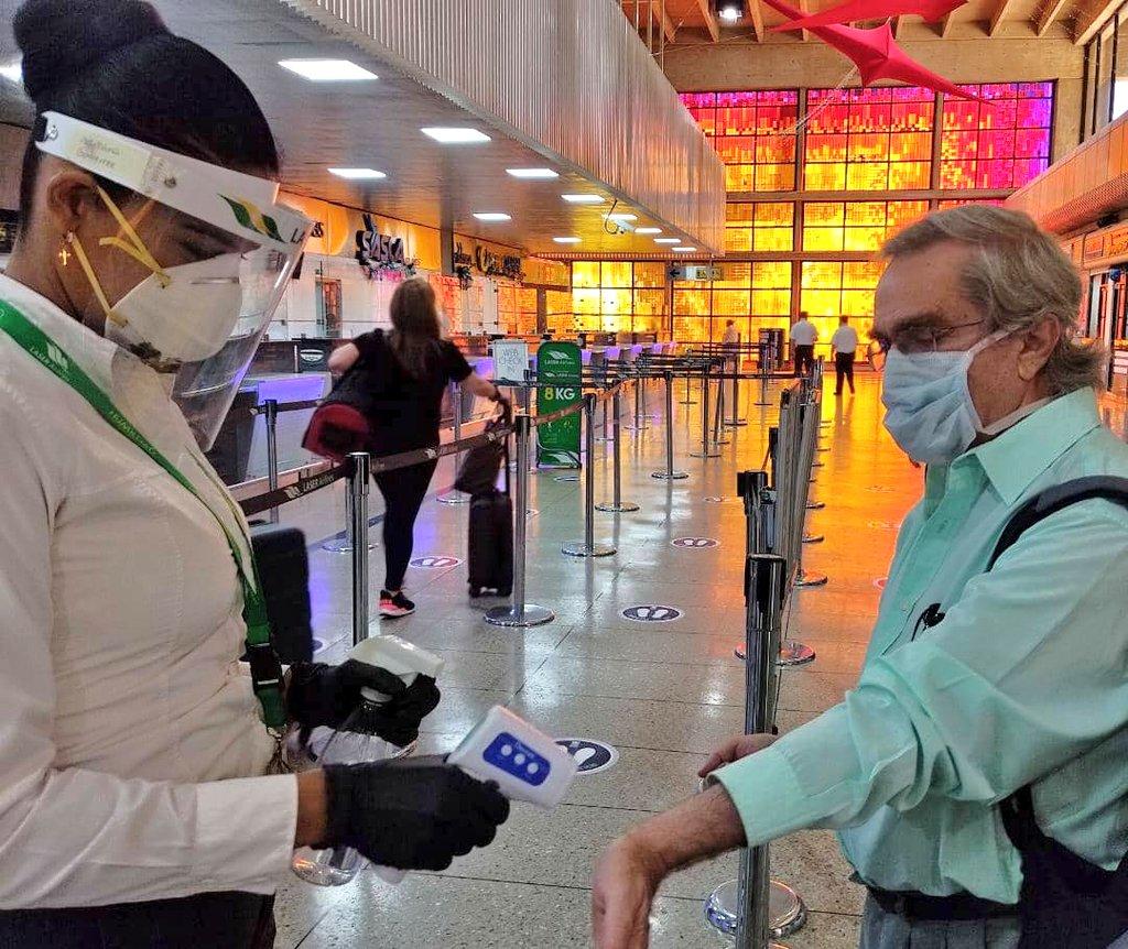 Inac oficializa medida sobre laboratorio para pruebas PCR en Maiquetía