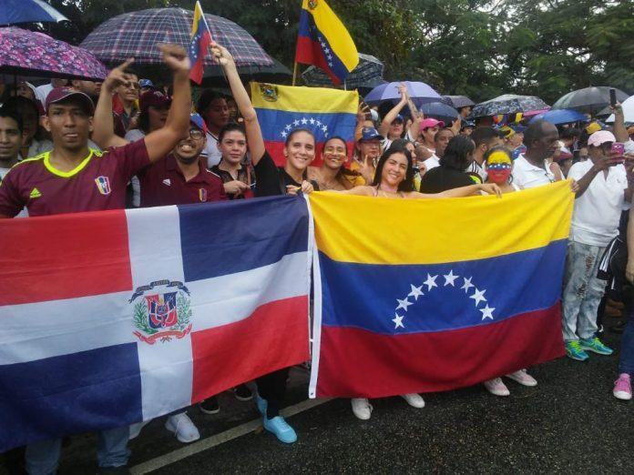 venezolanos República Dominicana