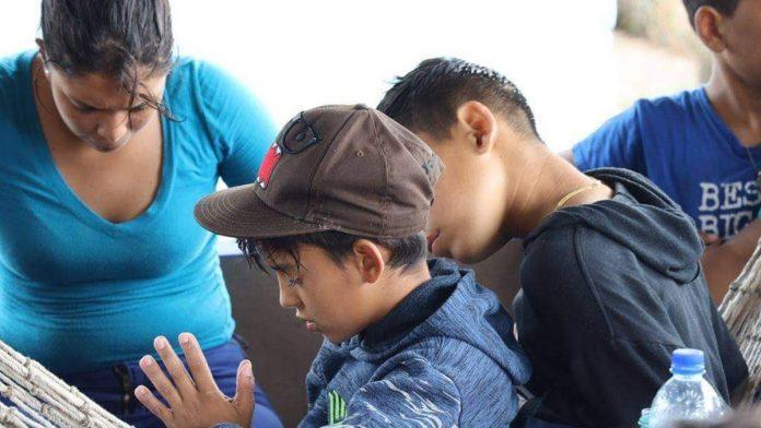 niños venezolanos detenidos
