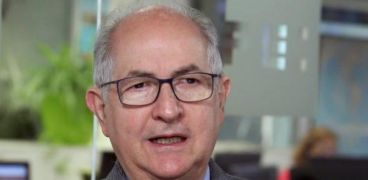 Antonio Ledezma de la oposición