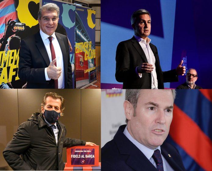 precandidatos FC Barcelona