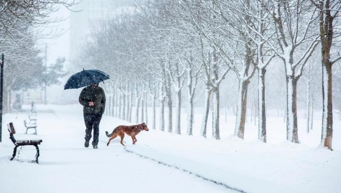 La nevada sobre Madrid provocó cortes en las vías y atrapó a los conductores
