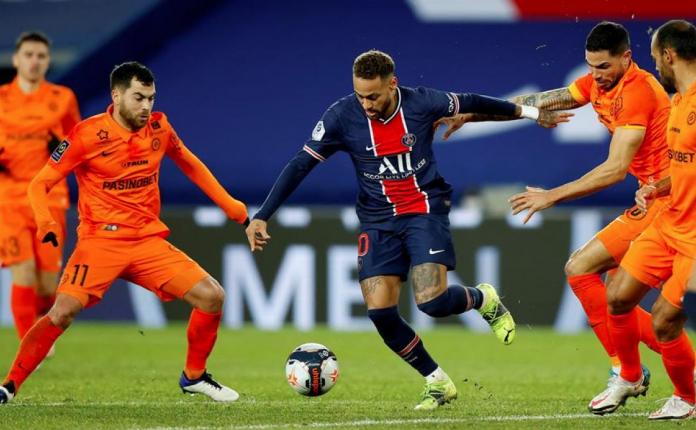 El París Saint-Germain hizo valer su tripleta mágica